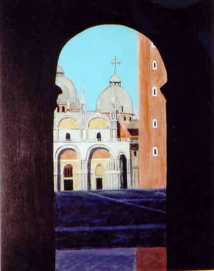 Walkway to Venice