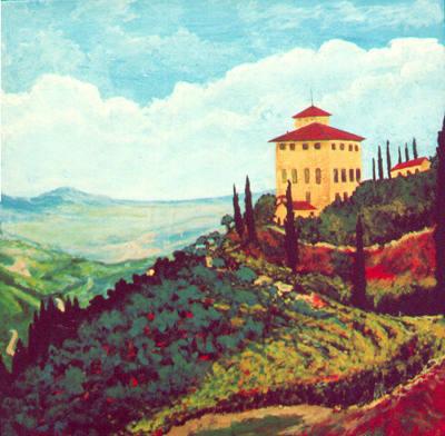 Tuscany Hilltop